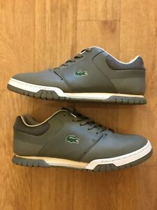 Lacoste Gorgeous Mens Trainers Sneakers Shoes Grey Size 8.5