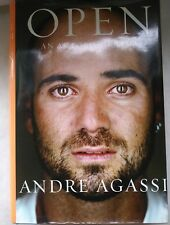 OPEN An Autobiography by Andre Agassi 2009 Hardcover with Dust Jacket