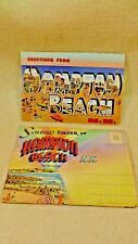 Lot of 2 Different Photo Folders Hampton Beach NH 1940's