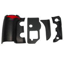 Origina 4 PCS /Set Grip Rubber Unit Assembly Part + Tape for Nikon D810 Repair