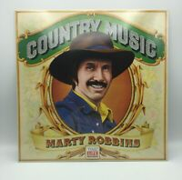"""MARTY ROBBINS -COUNTRY MUSIC -TIME LIFE RECORDS- VINTAGE LP - 12"""" FACTORY SEALED"""