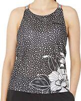 adidas Women's FARM Rio Brilliant Basics Workout Tank Top, Black/White, Small