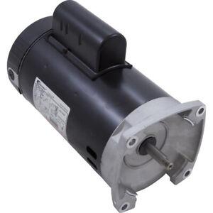 A.O. Smith B2847 0.75HP 115/230V Square Flange Pool Motor 1-Spd, 56Yfr