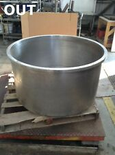 New listing 304 Stainless Steel 100 Gallon Mixing Kettle/Tank/Pot