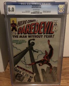 Daredevil 8 CGC 8.0 OW Pages