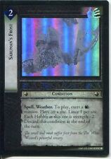 Lord Of The Rings CCG FotR Foil Card 1.U135 Sarumans Frost
