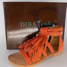 Diba True  Two More Suede Women's Sandal Size 7 AL3270