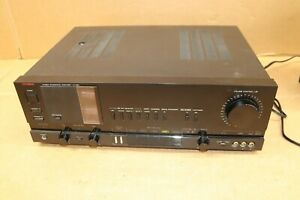 LUXMAN LV-105U Stereo Integrated Amplifier Tube Working Receiver Audiophile