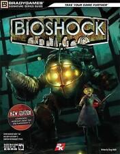 Bioshock-Bradygames guía de estrategia (Xbox 360 y PS3) totalmente Nuevo