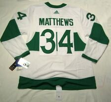 AUSTON MATTHEWS sz 50 Medium Toronto ST PATS Adidas NHL Authentic Hockey Jersey