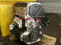 KIA SORENTO D4CB 2.5 CRDI DIESEL ENGINE 2002-2005 FULLY RECONDITIONED