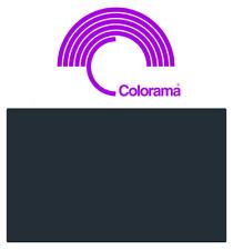 Colorama COAL PVC Colormatt 9700  100cm x 130cm
