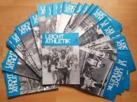51x Leichtathletik Fachzeitschrift 1977 Sammlung alt Sport 70er Jahrgang 1-52