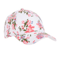 Time And Tru Cap Women's Baseball Style Cap Hat Floral Print
