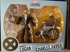 MARVEL LEGENDS 6? X-MEN MARVEL'S LOGAN & CHARLES XAVIER FIGURE 2-PACK SDCC  2020