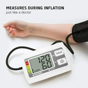 Salter Automatic Upper Arm Blood Pressure Monitor For Home Use, Heartbeat Detect