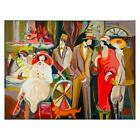 """Isaac Maimon """"Charming Encounters"""" Signed Limited Edition Serigraph With COA"""