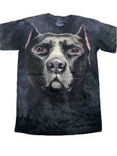The Mountain Pitbull Dog Face Youth T-shirt New Large 14-16