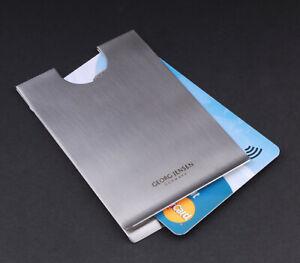 Georg Jensen, Denmark, Living. Sleeve Credit Card Holder. Philip Bro Ludvigsen