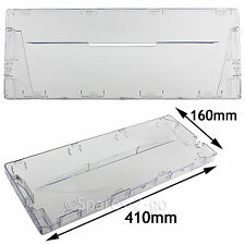Plastic Drawer Cover Flap Front for Hotpoint HM325FF HM325NI Fridge Freezer