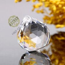 10 Clear Crystal Chandelier Ball Prism Rainbow Suncatcher Pendant Wedding Decor