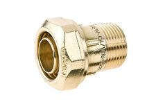 BEULCO Verschraubung AG 1/2 Zoll - 20x1,9mm, Übergangsstück, Klemmverbinder