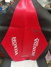Honda CR 125 250 1992 1993 1994 1995 Seat Cover CR Fluo Nuclear Red Super Evo