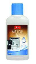 Melitta Anti CALC Liquid Descaler Espresso Machines 250ml