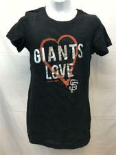 Fanartikel New-Mended San Francisco Giants Jugend Medium Grau Adidas Langarm Shirt Weitere Ballsportarten