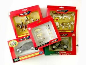 Britains Farmyard & Land Rovers 1:32 Scale Ex Shop Stock Please Choose From List