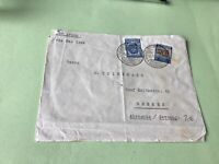 Colombia 1934 to Bremen Germany  stamps cover Ref 21372