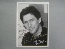 TIM  MATHESON   Johnny Quest/Lampoon's Animal House  Signed  5 X 7  B & W  Photo