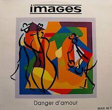++IMAGES danger d'amour (3 versions) MAXI 1990 FLARENASCH RARE VG++