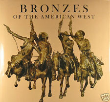 Bronzes of the American West by Broder HB 1973 Signed 1st  W6