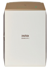 Instax Share SP-2 Photo Portable High Speed 320 dpi Resolution Printer Gold NEW