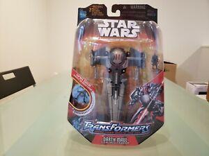 Hasbro Star Wars Transformers Darth Maul Sith Infiltrator
