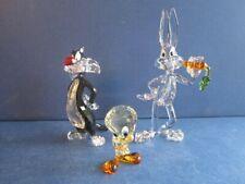 Swarovski Looney Tunes Buys Bunny, Sylvester & Tweety complete.
