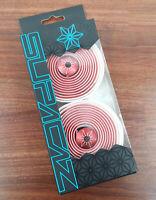 Supacaz Super Sticky Kush Starfade Handlebar Bicycle Bar Tape White/Red