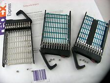 2.5'' HDD Tray Caddy for HP  DL380 370 DL360 G5 G6 G7 SATA/SAS 371593-001