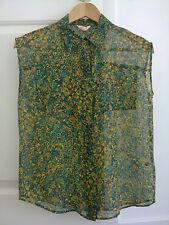 Gorman Freckle Fields Silk Shirt Size 6 BNWT RRP $199