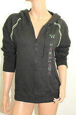 Pink By Victoria's Secret Women's Collegiate Hoodie Nwt Color Black Size XSmall
