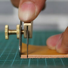 Copper Leather Craft Line Strip Trimming Positioning Cutting Cutter Knife Tool