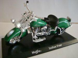 Indian Four Green - 1:18 Maisto
