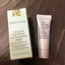 ESTEE LAUDER ADVANCED NIGHT REPAIR EYE CONCENTRATE & PERFECTLY CLEAN MASK