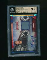 2017 Topps WWE Womens Division Gold /10 Auto Mat Relic Tamina BGS 9.5