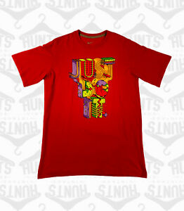 Red Nike 'Just Do It' Tshirt   XL