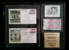 ELVIS PRESLEY LIMITED EDITION 1ST DAY STAMP COLLECTOR'S PLAQUE