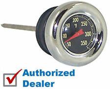 Chrome Oil Tank Dip Stick Temperature Gauge Harley OEM 62666-87T Shovelhead XLCH