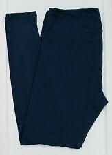 TC LuLaRoe Tall & Curvy Leggings Beautiful Solid Dark Teal Blue NWT 14