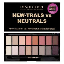 Makeup Revolution NEW-TRALS vs NEUTRALS 16 Eyeshadow Palette - Free Shipping